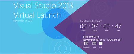 Presentación virtual de Visual Studio 2013, y más novedades