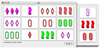 Set, el juego de la percepción visual