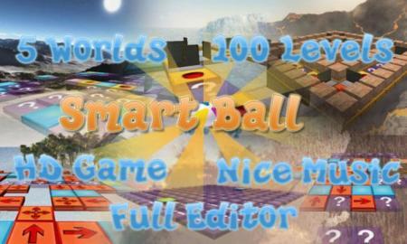 Smart Ball HD, guía a una pelota con este puzzle espacial