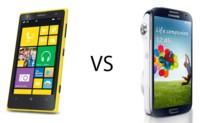 Nokia Lumia 1020 y Samsung Galaxy S4 Zoom frente a frente