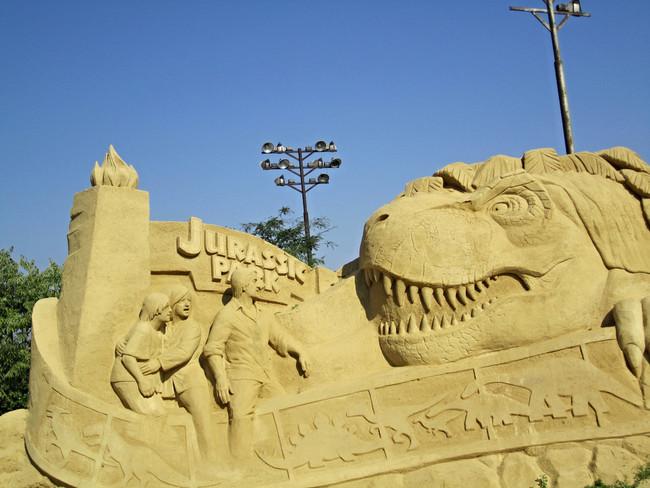 esculturas arena Burgas