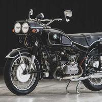 Esta historia de amor acabó con el motor de un coche Volkswagen trasplantado en una moto BMW
