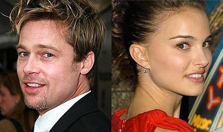 Brad Pitt y Natalie Portman viven un romance de título interminable