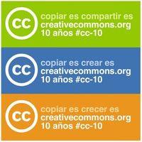 Creative Commons está de décimo aniversario
