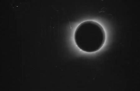 Estas imágenes en movimiento son del 1900 y son las primeras en registrar un eclipse solar total