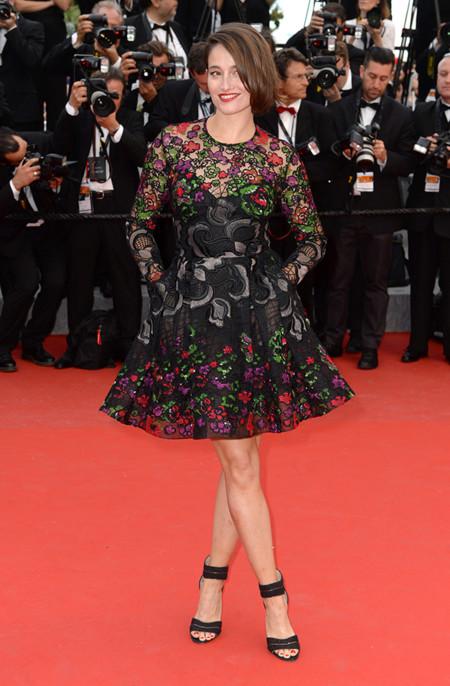 Marie Gillain Festival Cannes 2015 Elie Saab