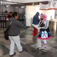 """""""Que no te cargue el payaso"""", la campaña que quiere sensibilizar a los usuarios del metro de CDMX a cuidarse del COVID-19"""