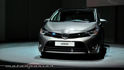 Toyota Verso 115D, toma de contacto