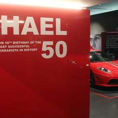 Foto 2 de 9 de la galería michael-50-en-el-museo-ferrari en Motorpasión México