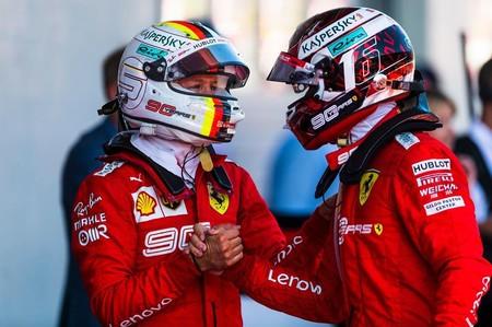 Vettel Leclerc Austria F1 2019