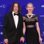 Vanesa Lorenzo demuestra que las mujeres de futbolistas también pueden ser estilosas en los Premios Laureus