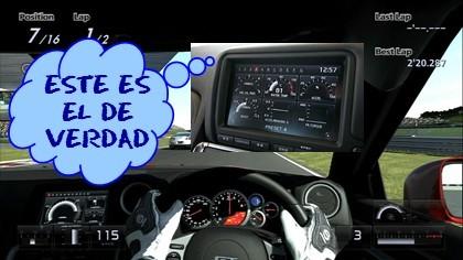 Polypony Digital y el interior del Nissan GT-R. Pero del GT-R de verdad.