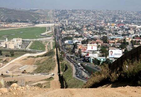 Mexico Estados Unidos Frontera Tierra