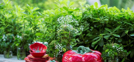 Un toque divertido para las comidas: nuevas piezas de la colección Tomate de Bordallo Pinheiro