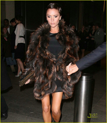 El look sintético de Victoria Beckham