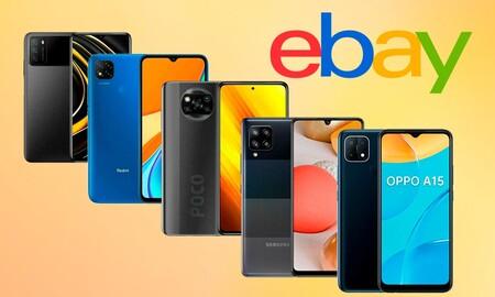 Estos smartphones de Xiaomi, OPPO, Pocophone y Samsung te van a salir mucho más baratos en eBay