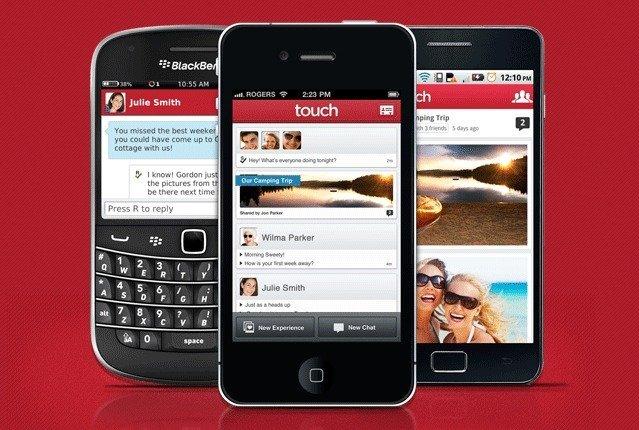 touch mensajería instantánea