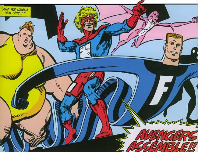 Great Lakes Avengers Marvel Comics H2