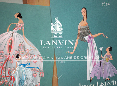 Para celebrar sus 125 años, Lanvin anima su logo