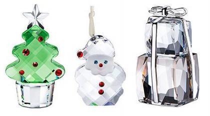 Regalos con motivos navideños de la mano de Swarovski