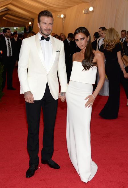 David Y Victoria Beckham 20 Aniversario Boda 2014