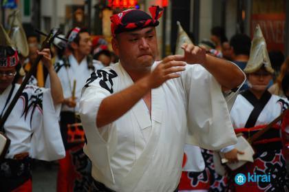 El festival Awa Odori en Tokyo