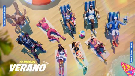 Fortnite celebra el cambio de estación con su evento 14 días de verano: nuevas armas, desafíos y modos de juego
