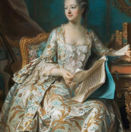 Madame De Pompadour De La Tour1327390528406
