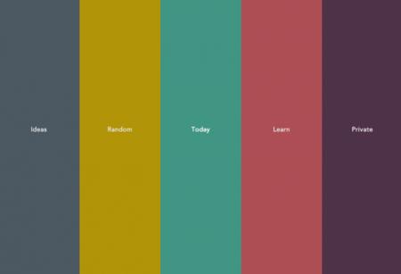 5iler: cinco columnas en una web para tus notas, tareas e ideas