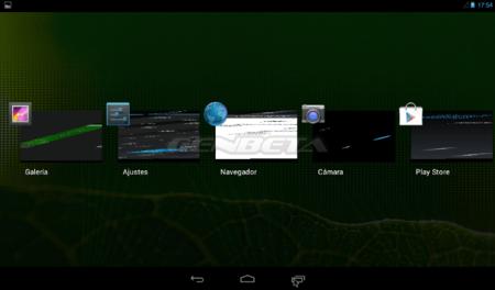 Android-x86 4.3, programas en ejecución