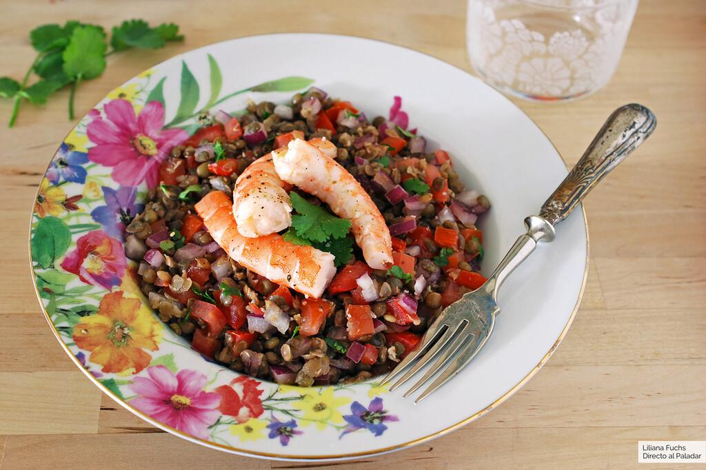 13 ensaladas de legumbres, saciantes y ligeras, que puedes incluir en tu dieta