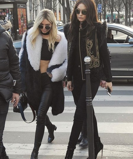 Gigi Hadid Kendall Jenner Swap 1