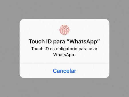 Un error de WhatsApp en iOS permite saltarse la protección con Touch ID o Face ID
