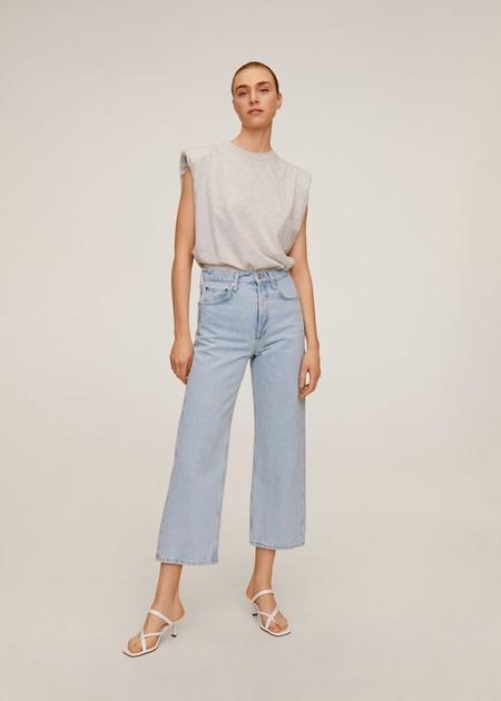Jeans Straight High Waist