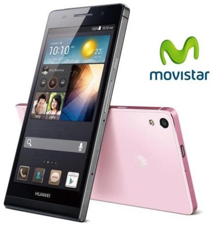 Precios Huawei Ascend P6 con Movistar