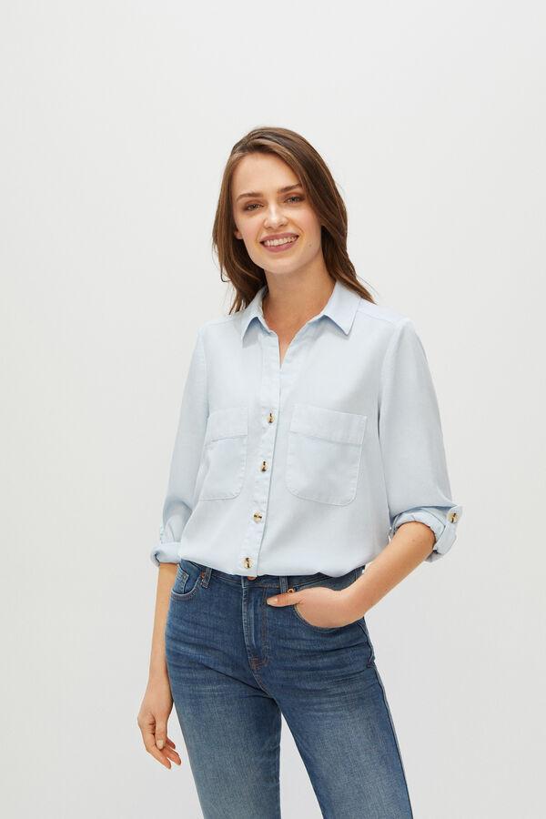 Camisa cargo 100% lyocell