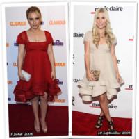 Vestido de Moschino: ¿Hayden Panettiere o Tinsley Mortimer?