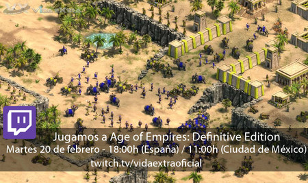 Streaming de Age of Empires: Definitive Edition a las 18:00h (las 11:00h en CDMX)  [finalizado]