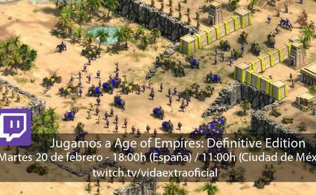 Streaming de Age of Empires: Definitive Edition a las 18:00h (las 11:00h en CDMX)  [finalizado]