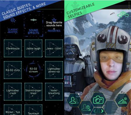 Que la fuerza te acompañe en la nueva aplicación oficial de Star Wars para Android