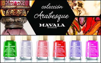 Mavala Arabesque, manicuras intensas o futuristas en su Colección Invierno 2012-2013