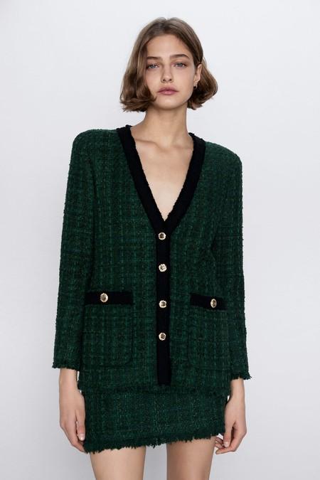 Chaqueta Tweed Lowcost