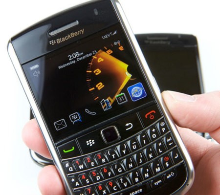 BlackBerry Tour 2 9650 retrasada y rebautizada