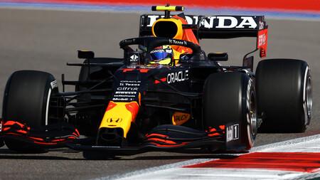 Sergio Perez Rusia F1 2021
