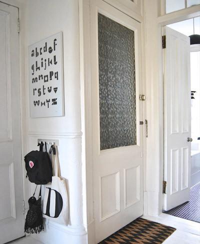 Entrada apartamento nórdico