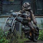 Motor V8, 300 CV y más de 600 kg de peso: así es Gangrena, la moto rusa inspirada en 'Fallout'