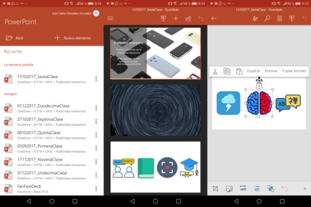 Microsoft Office PowerPoint Android
