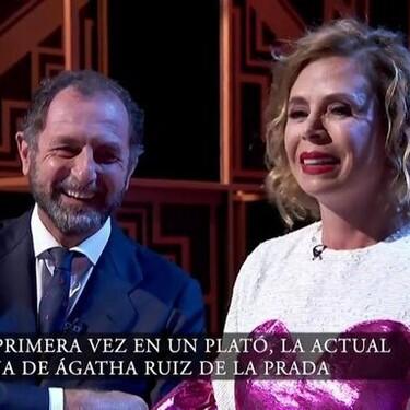 ¡Pero me tienes agathizado! El gesto con el que Luis Gasset le ha robado el corazón a Ágatha Ruiz de la Prada, le ha faltado bailarse una de Bruno Mars como pedida