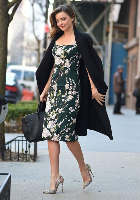 Miranda Kerr vestido Dolce Gabbana