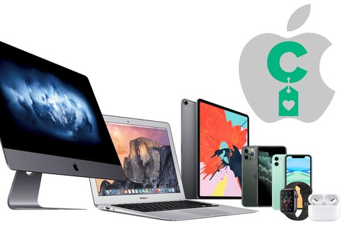 Las mejores ofertas en dispositivos Apple. Aquí vas a encontrar los iPhone, Apple Watch, MacBook o AirPods más baratos